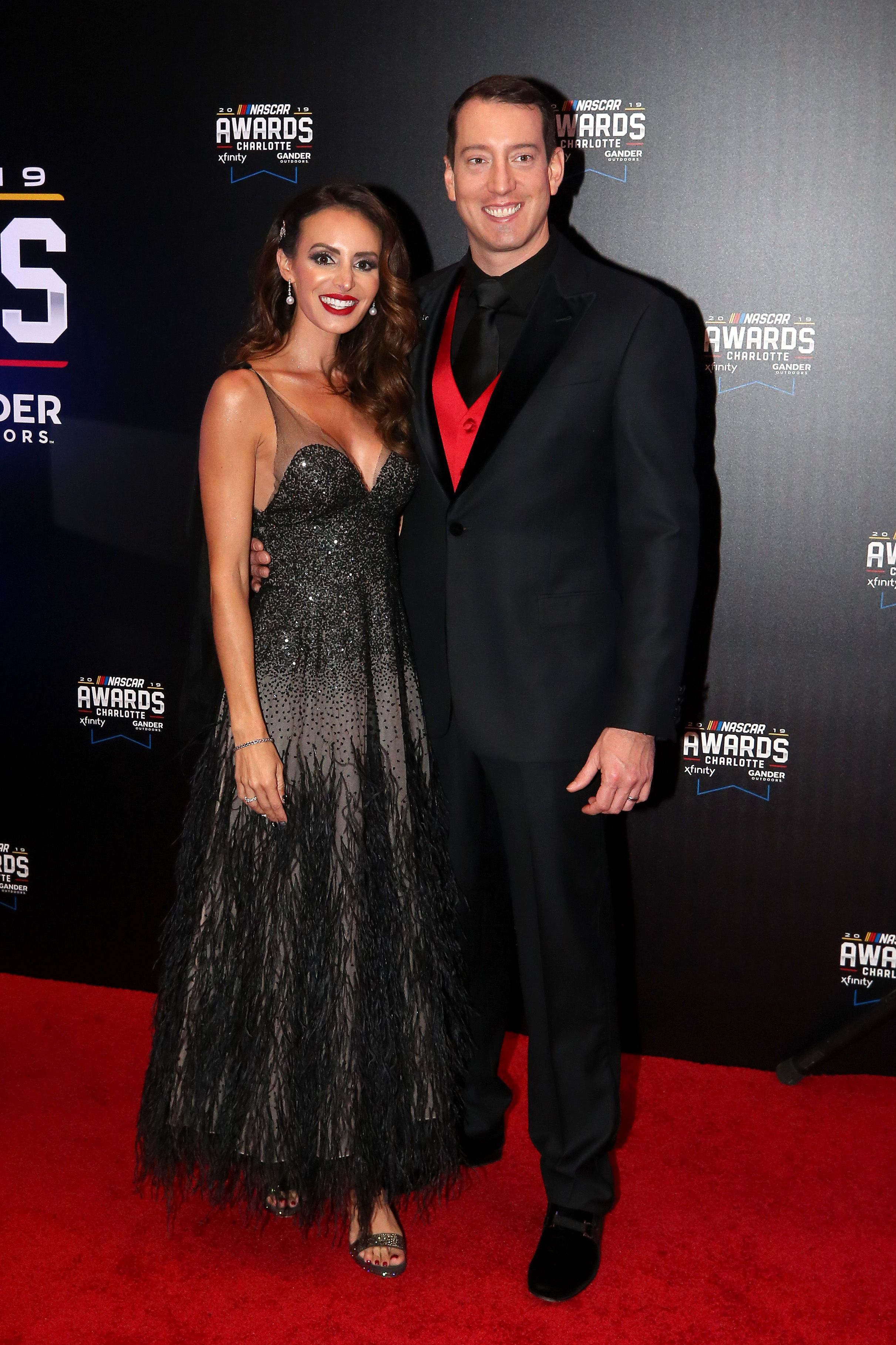 Kyle Busch and Samantha Busch at the NASCAR Xfinity Series on November 22, 2019 in Charlotte, North Carolina | Photo: Getty Images