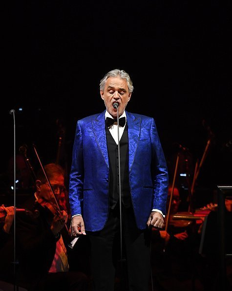 Italian singer-songwriter Andrea Bocelli in Concert at Madison Square Garden on December 13, 2018 in New York City | Photo: Getty Images