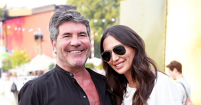 Simon Cowell & Lauren Silverman Look Happy as They Leave 'Britain's Got Talent' Semi-Finals