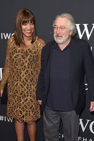 Grace Hightower and Robert De Niro attend the Tribeca Film Festival on April 20, 2017, in New York City. | Photo: Getty Images