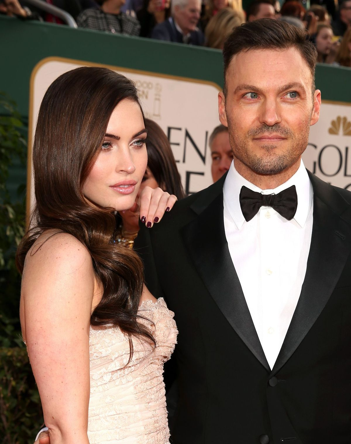 Megan Fox and Brian Austin Green at the 70th Annual Golden Globe Awards on January 13, 2013 | Photo: Christopher Polk/NBC/NBCUniversal/Getty Images