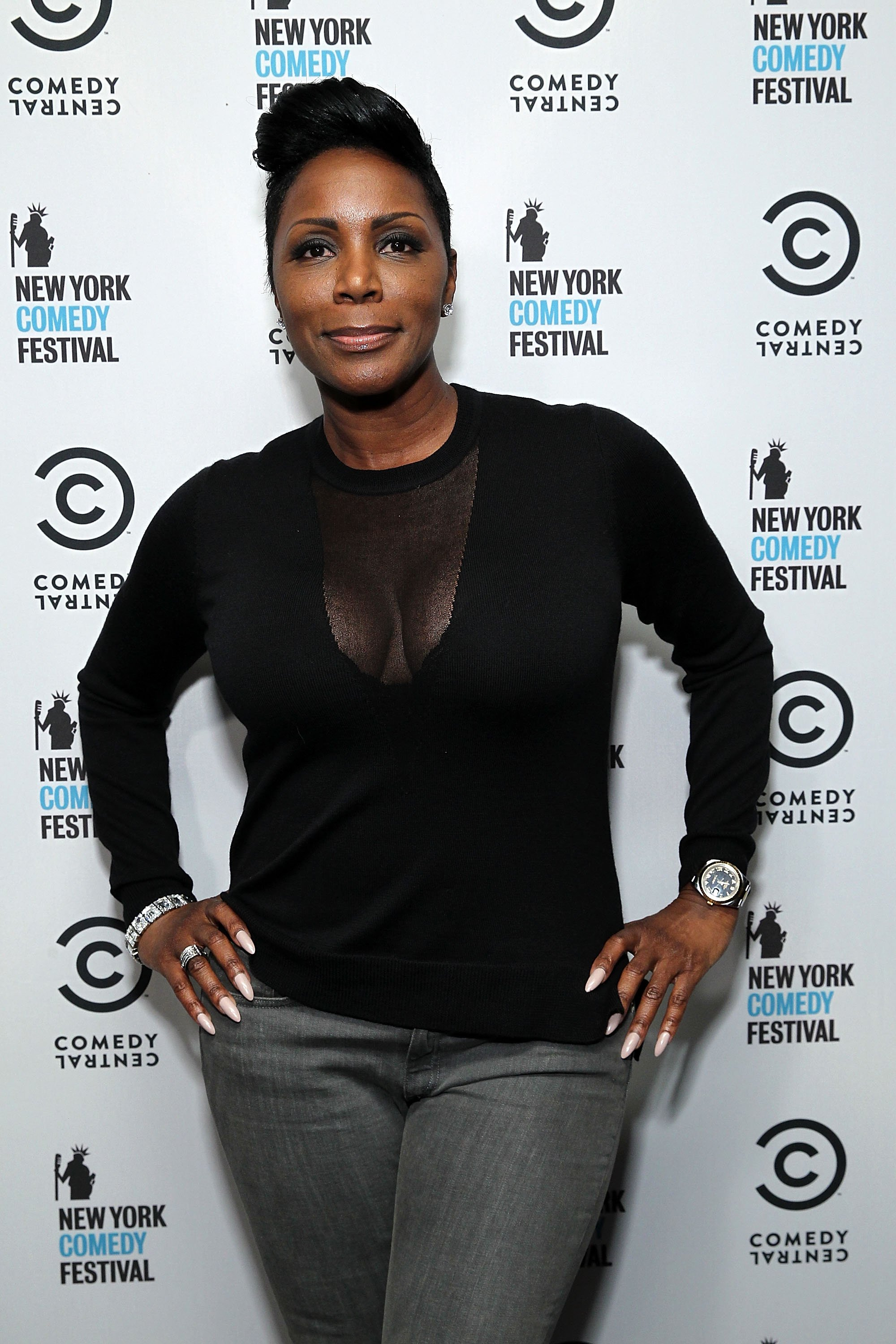 Sommore at the New York Comedy Festival hosted | Photo: Getty Images