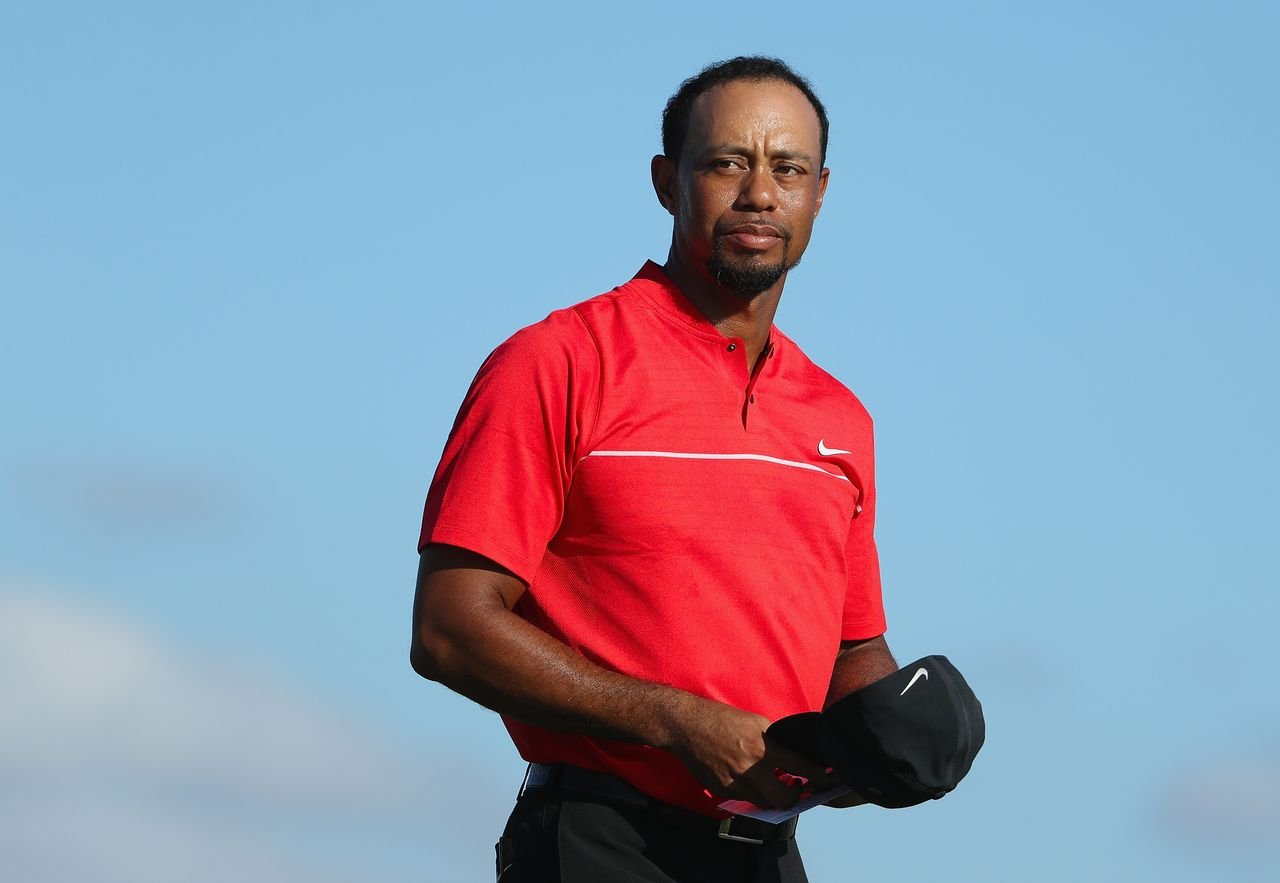 Tiger Woods during the final round of the Hero World Challenge at Albany, The Bahamas on December 4, 2016 in Nassau, Bahamas. | Source: Getty Images