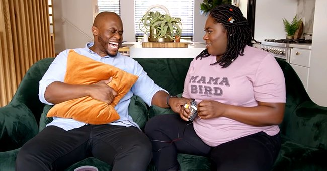 Danielle Brooks from OITNB Has Too Much Fun as She Hooks Boyfriend Dennis up to a Contractions Simulator