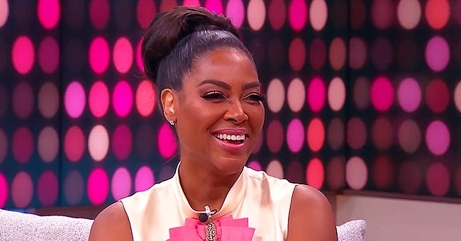 Kenya Moore of RHOA Shares Cute Video of Baby Brooklyn Walking and Dancing