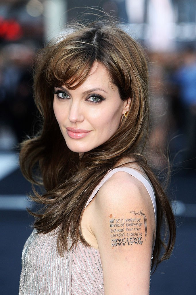 """Angelina Jolie attends the UK premiere of """"Salt"""" in London, England on August 16, 2010 