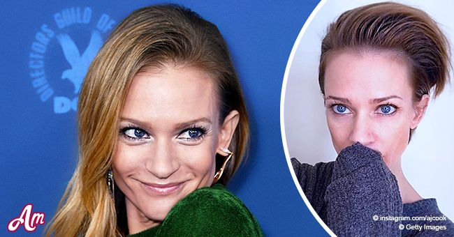 Criminal Minds A J Cook Stuns Fans By Cutting Her Hair Short For New Decade