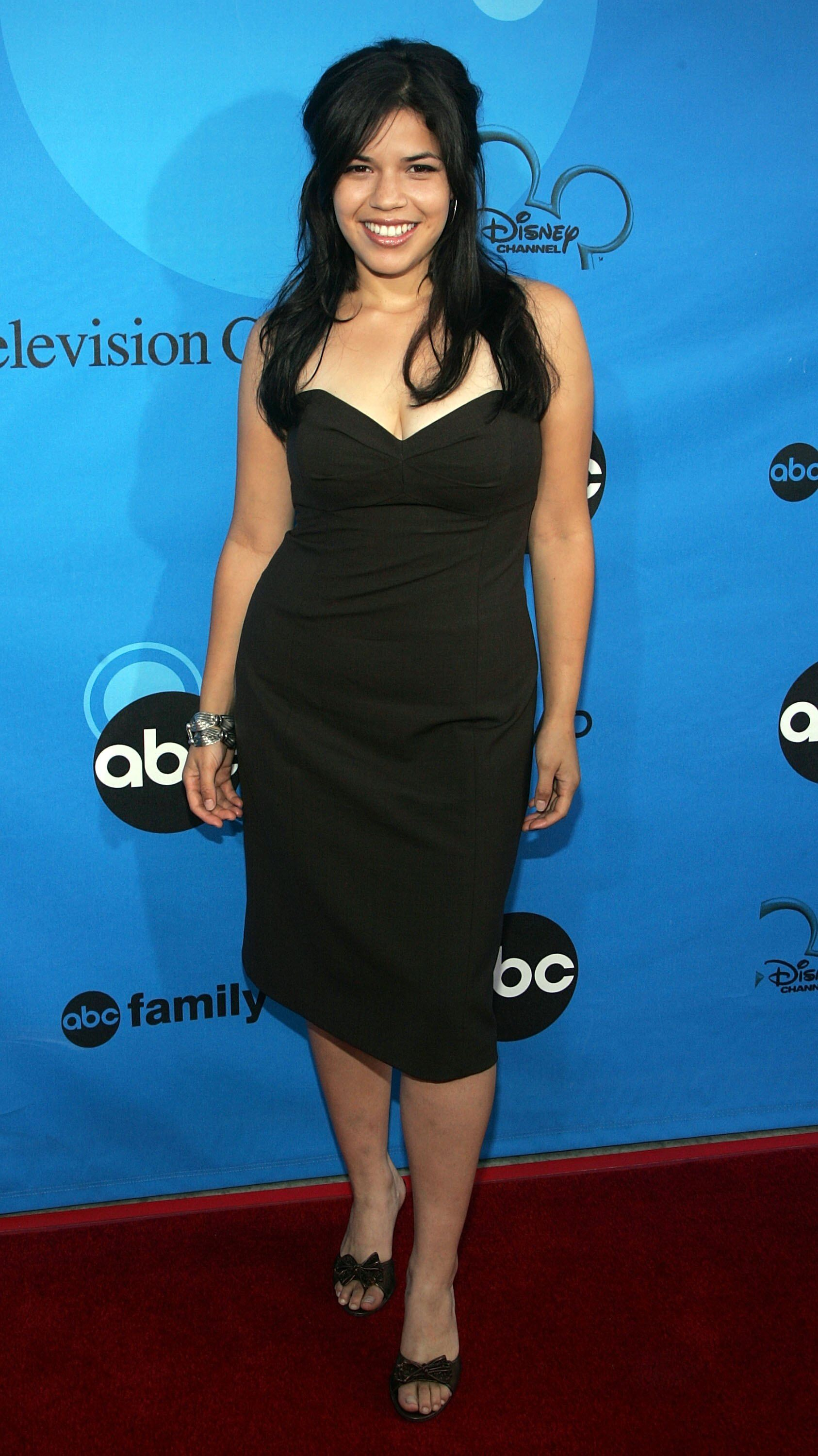 America Ferrera arrives to the Disney - ABC Television Group All Star Party. | Source: Getty Images