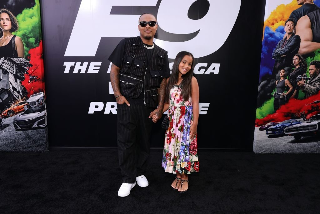 """Bow Wow and Shai Moss at the Universal Pictures """"F9"""" World Premiere, June 2021 