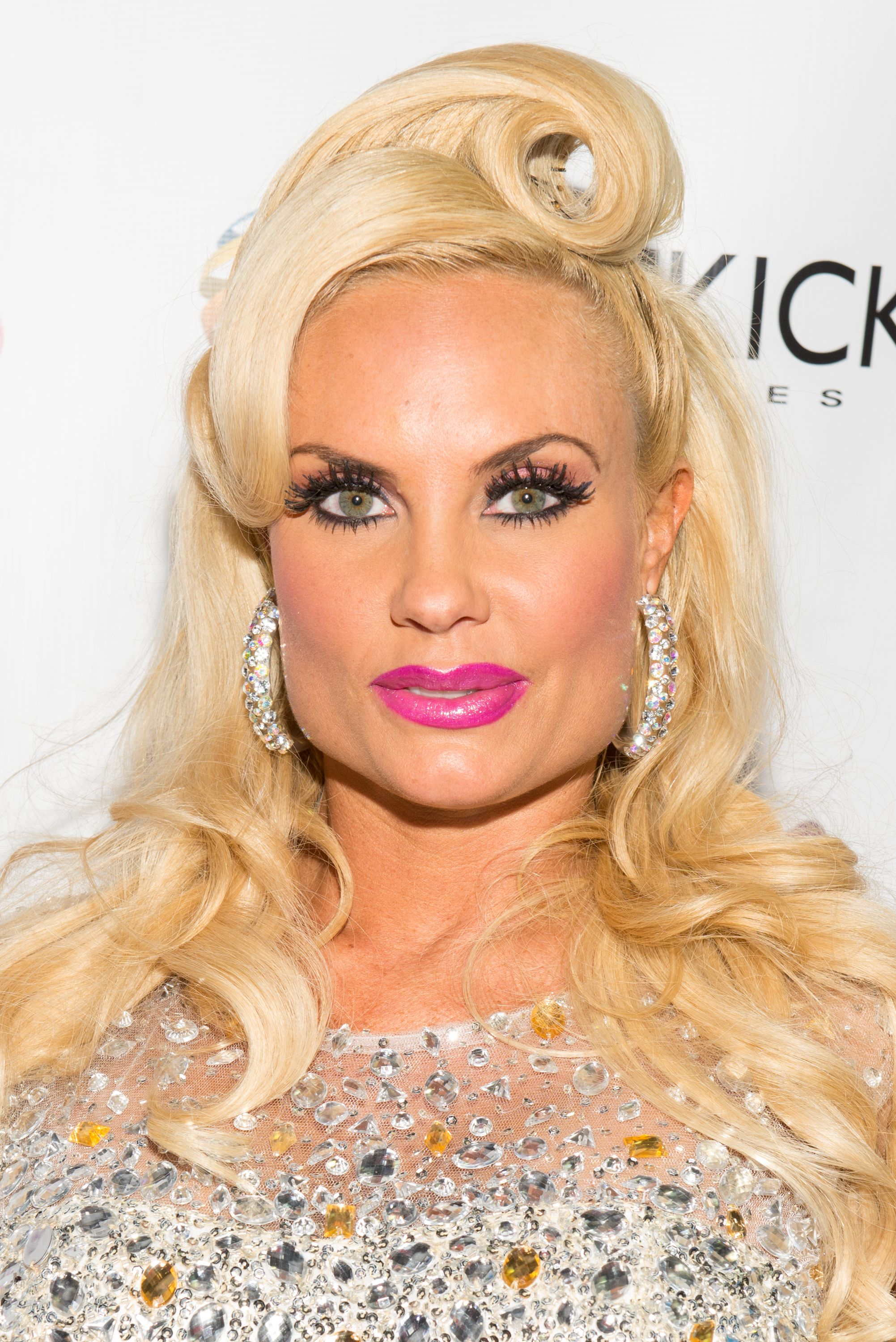 """Coco Austin during """"Coco & The Vanity Vixens"""" at Highline Ballroom on May 12, 2014 in New York City. 