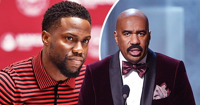 Kevin Hart Appears to Show Support for Steve Harvey Amid Miss Universe 2019 Backlash over Colombian Cartel Jokes