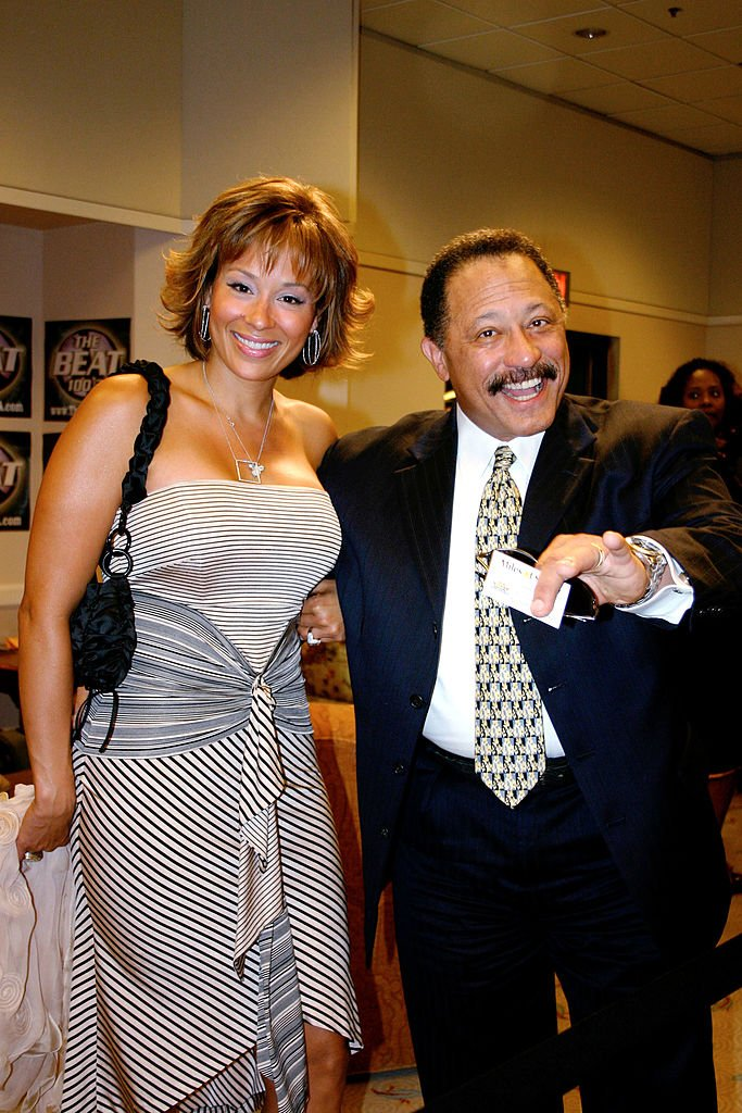 Judge Joe Brown and his wife arrive as presenter at the Fourth Annual Hoodie Awards at the MGM Grand Garden Arena in the MGM Grand Hotel on June 26, 2004.   Photo: Getty Images