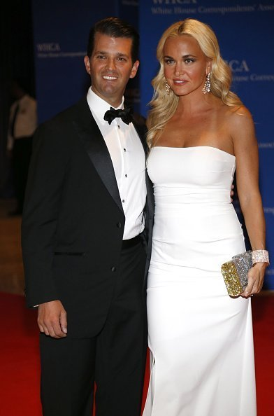 Donald Trump Jr., left, and Vanessa Trump arrive for the White House Correspondents' Association (WHCA) dinner in Washington, D.C., U.S., on Saturday, April 30, 2016 | Photo: Getty Images