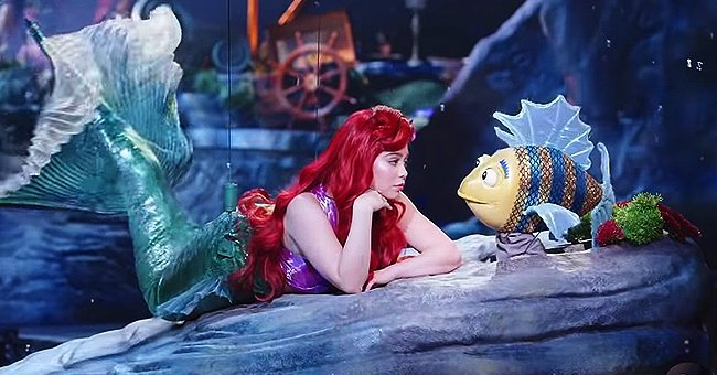 """Little Mermaid Live!"" production. 