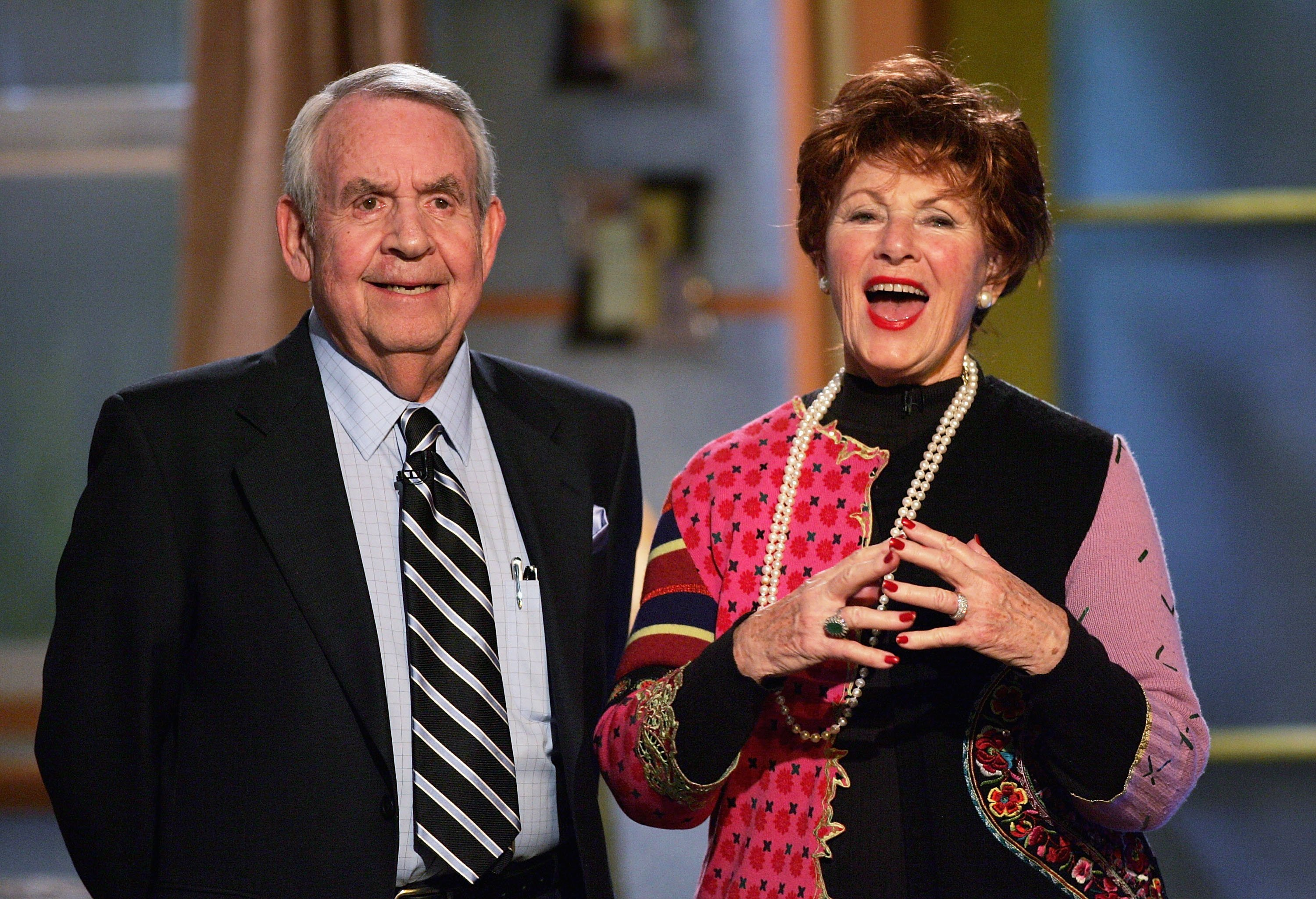 Tom Bosley and Marion Ross at the 6th Annual Family Television Awards on December 1, 2004 | Photo: GettyImages