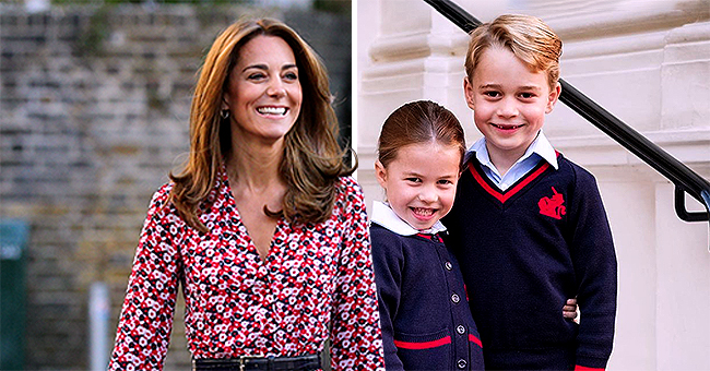 Princess Charlotte and Prince George Were All Smiles on a Photo Taken Shortly before Going to School