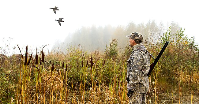 Daily Joke: A Hunter and a Farmer Decide Who Gets the Shot Duck