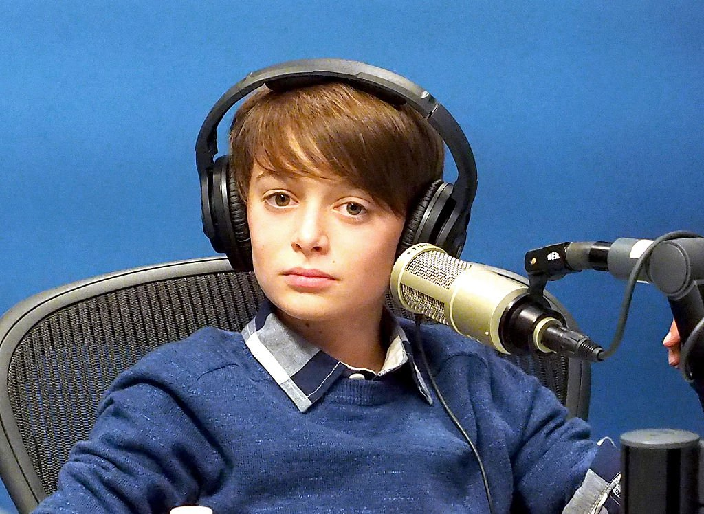 Noah Schnapp at the SiriusXM Studios on September 1, 2016 in New York City.   Photo: Getty Images