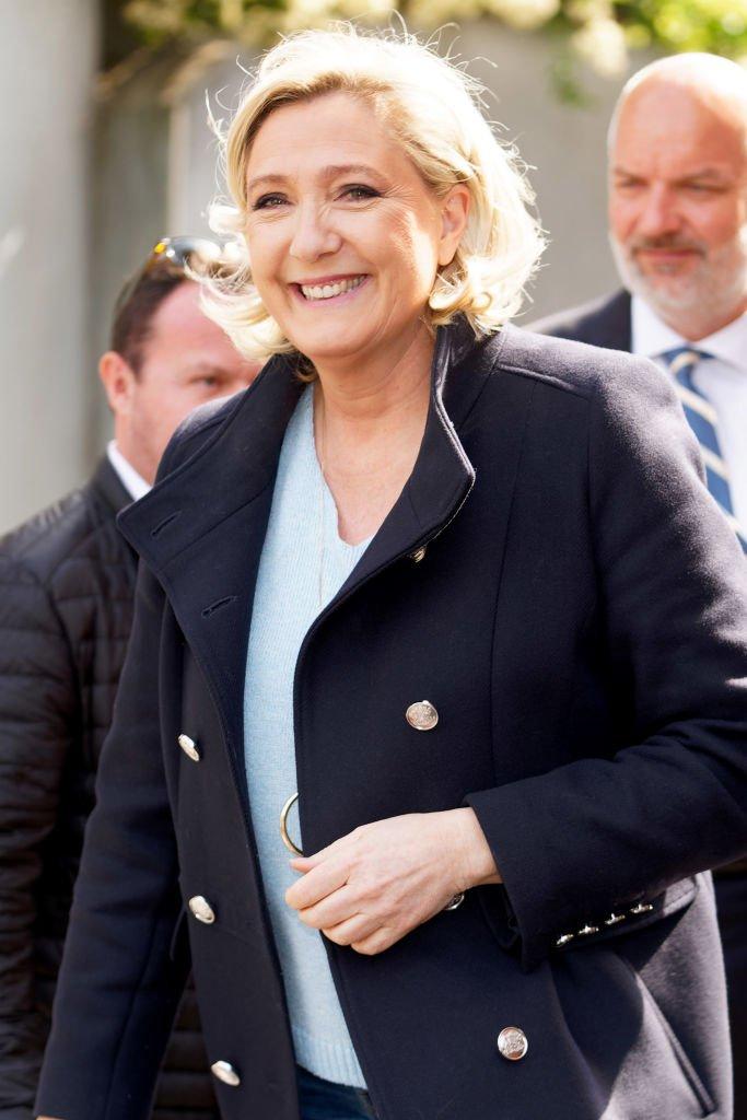 Marine Le Pen le 26 mai 2019 à Henin-Beaumont. l Source : Getty Images