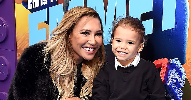 """Naya Rivera and her son, Josey, at the """"Lego Movie 2: The Second Part"""" premiere. 2019.   Photo: Getty Images"""