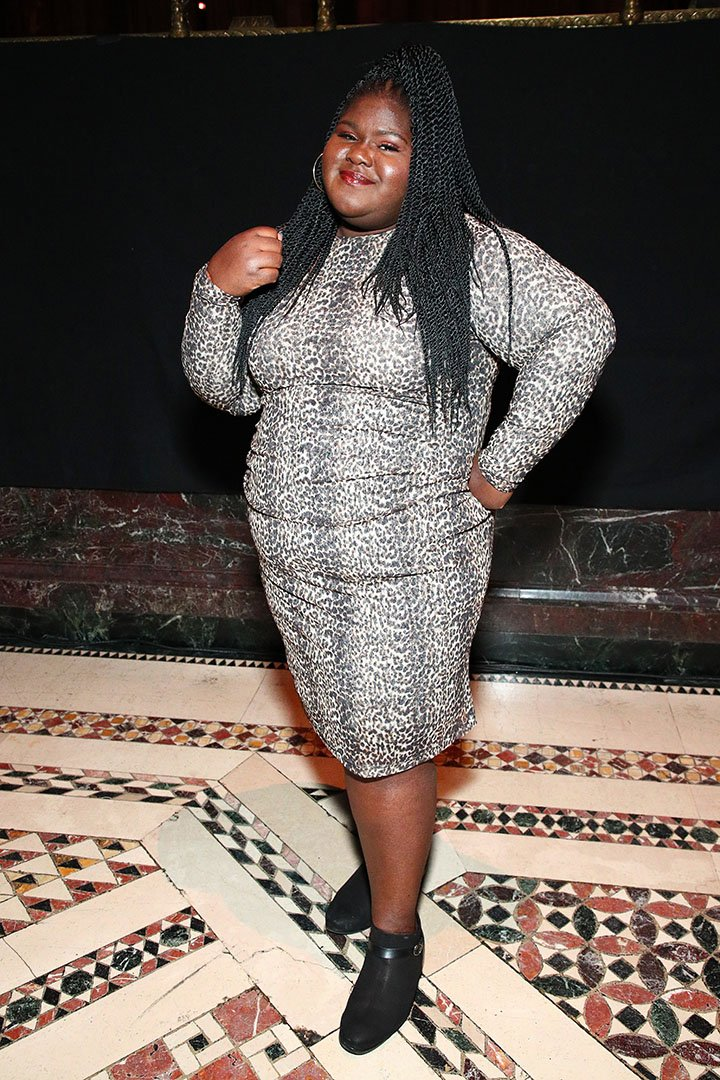 Gabourey Sidibe attending the 20th Anniversary Bottomless Closet Luncheon at Cipriani 42nd Street in New York City in May 2019. I Photo: Getty Images.