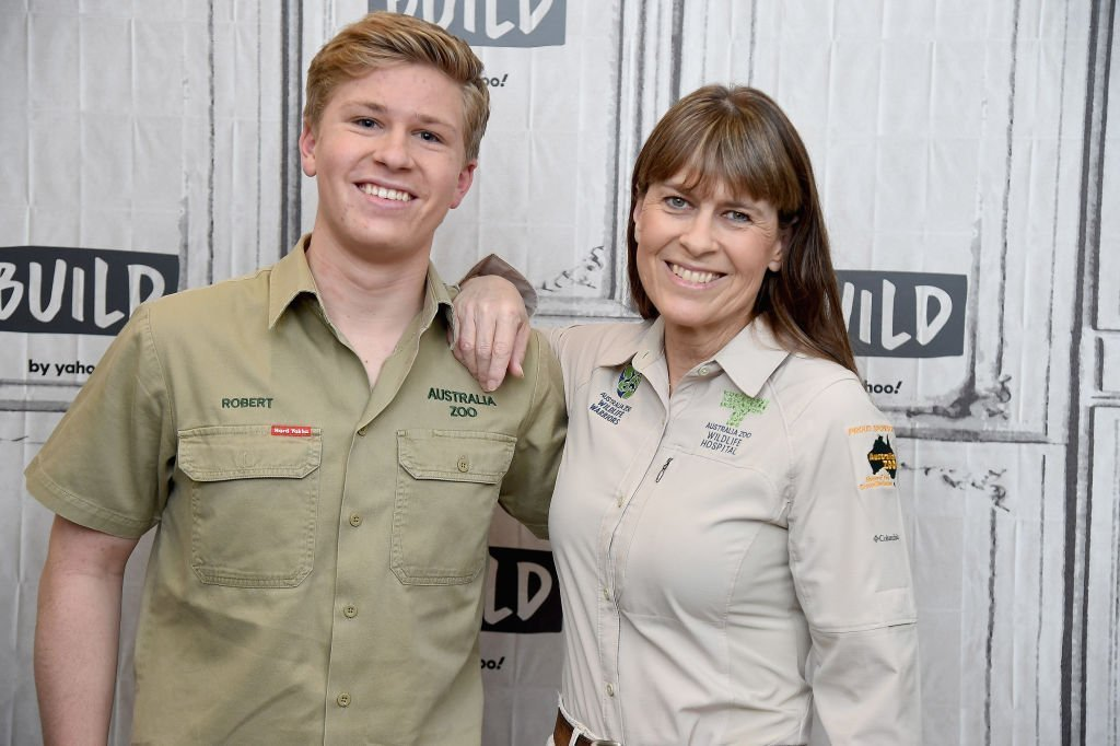 "Robert Irwin and Terri Irwin visit the Build Series to discuss Steve Irwin Day and the 2nd season of ""Crikey: It's the Irwins"" at Build Studio. 