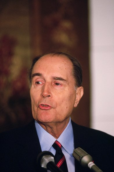 L'ex-président français François Mitterrand. | Photo : Getty Images
