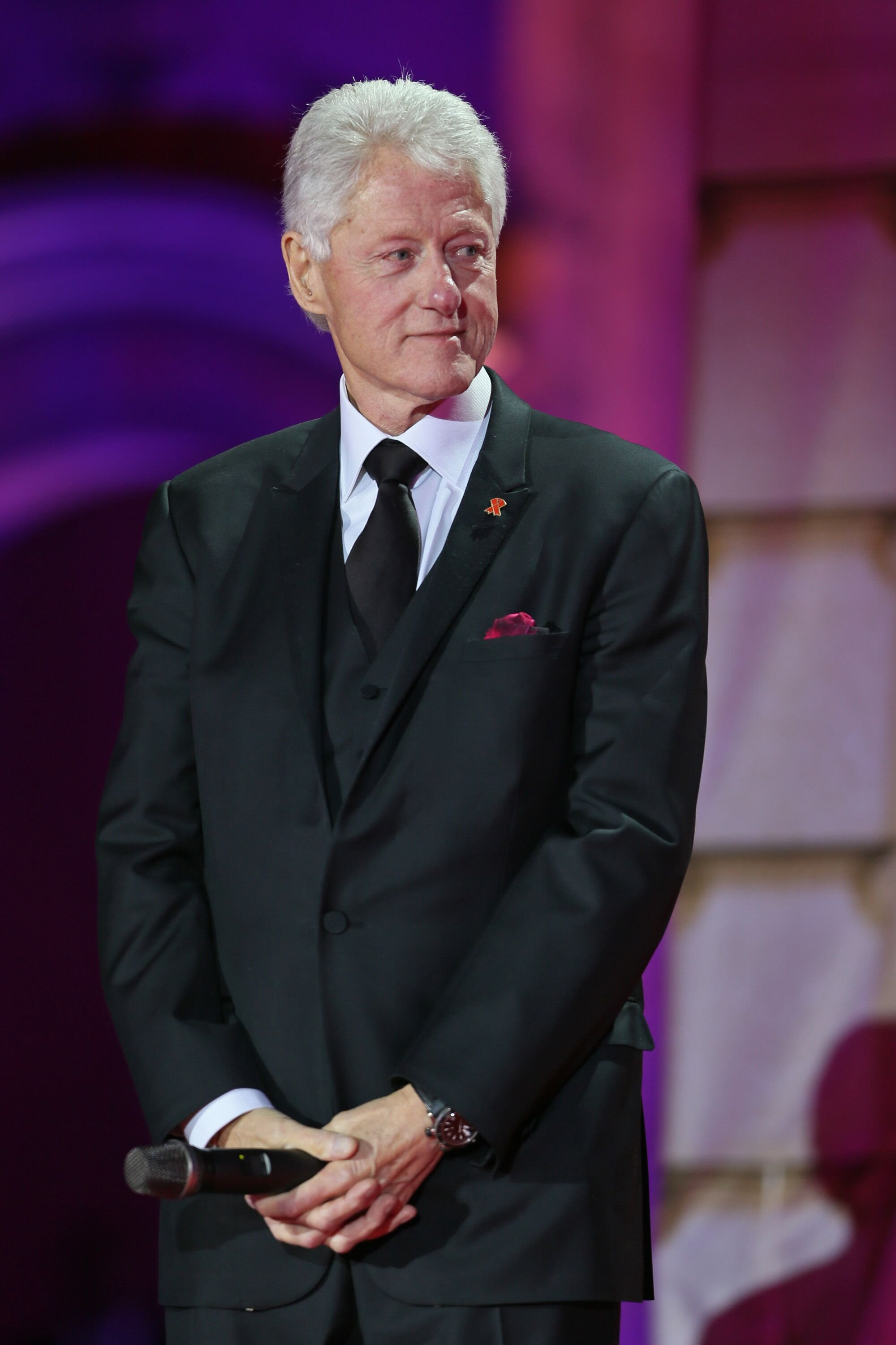 Bill Clinton attends the 'Life Ball 2013 - Show' at City Hall.   Source: Getty Images