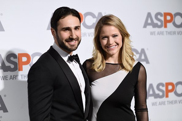 Max Shifrin (L) and Sara Haines attend ASPCA'S 18th Annual Bergh Ball honoring Edie Falco and Hilary Swank at The Plaza Hotel on April 9, 2015, in New York City. | Source: Getty Images.