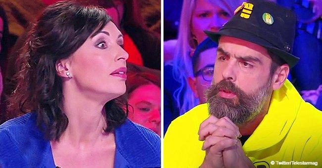 """""""C'est inaudible !"""" : Un grand affrontement entre l'animateur et Jérôme, un personnage Gilets jaunes"""