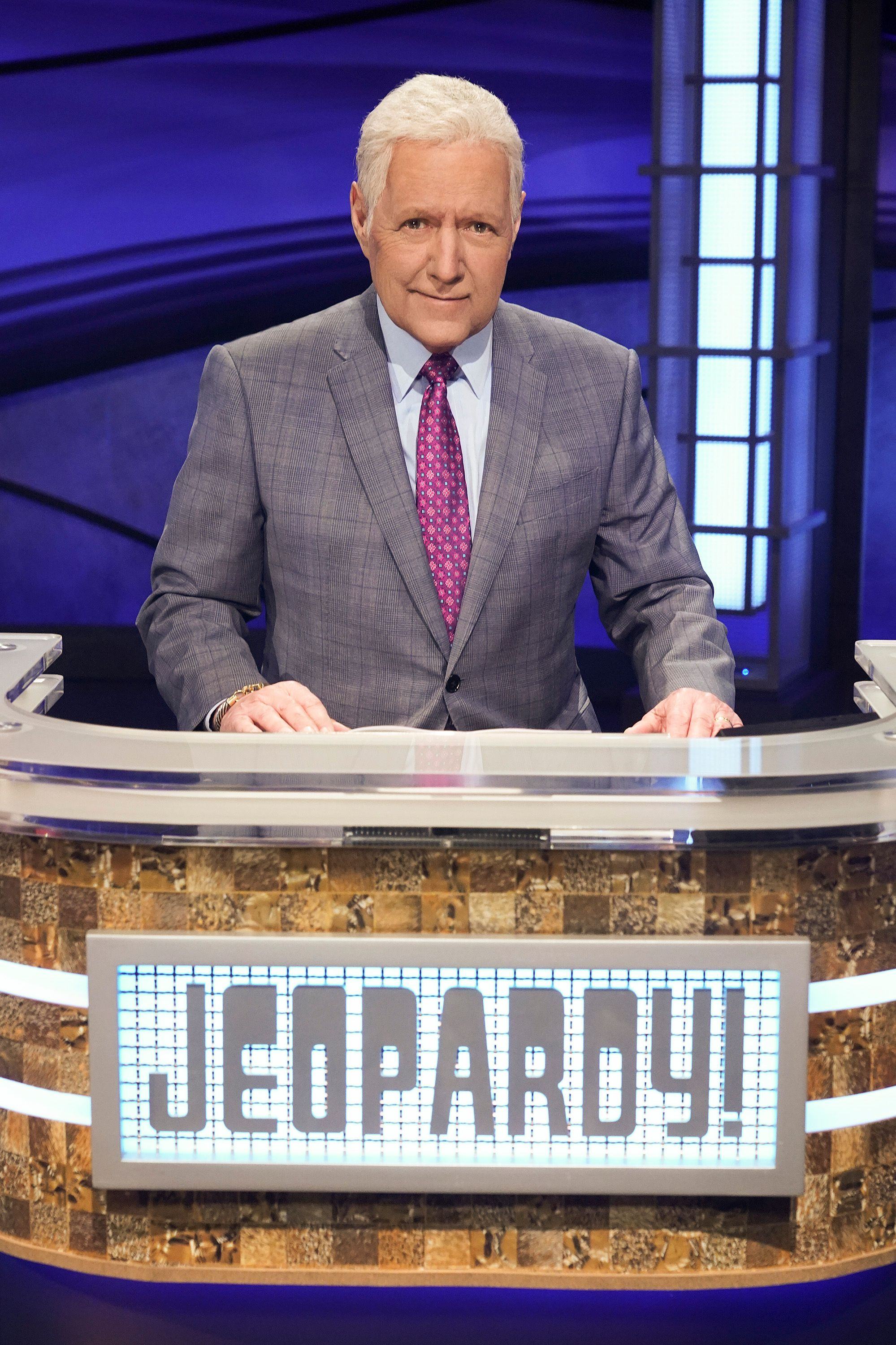 """Alex Trebek hosting """"Jeopardy! The Greatest of All Time"""" in January 2020 
