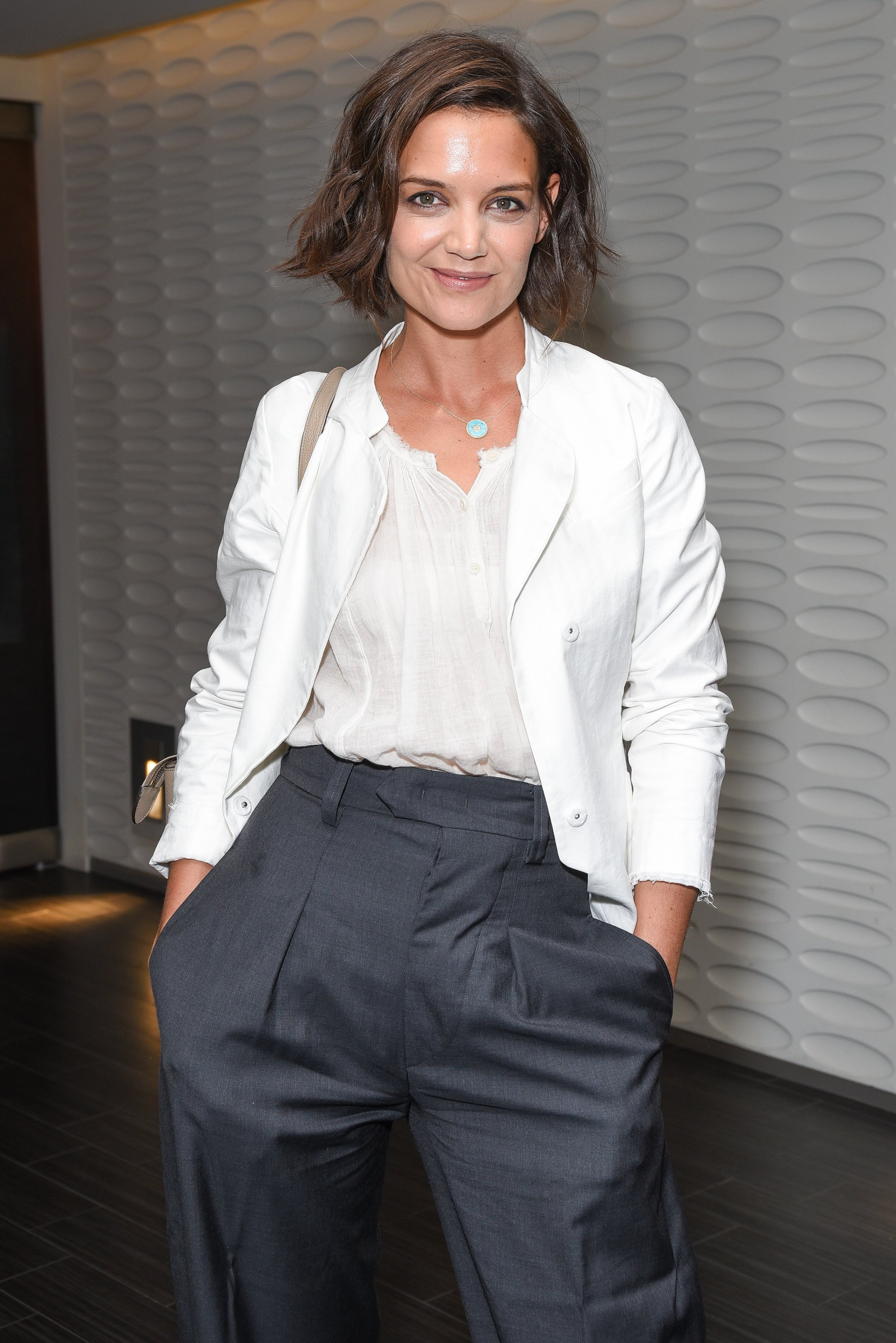 """Katie Holmes attends the after party for the premiere of """"The Wife"""" in West Hollywood, California on July 23, 2018 
