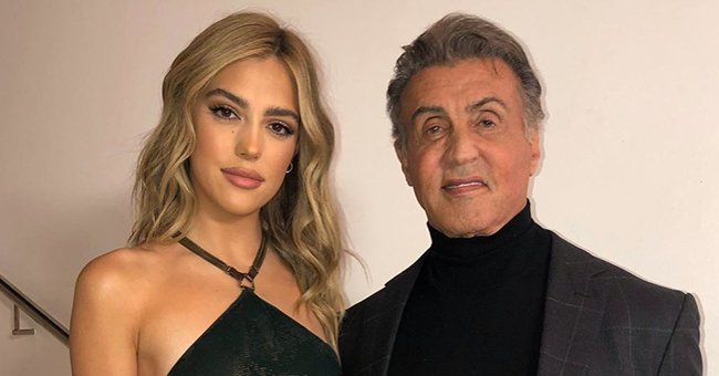 Check Out Sylvester Stallone's Dance Skills in This Video with His Daughter Sistine