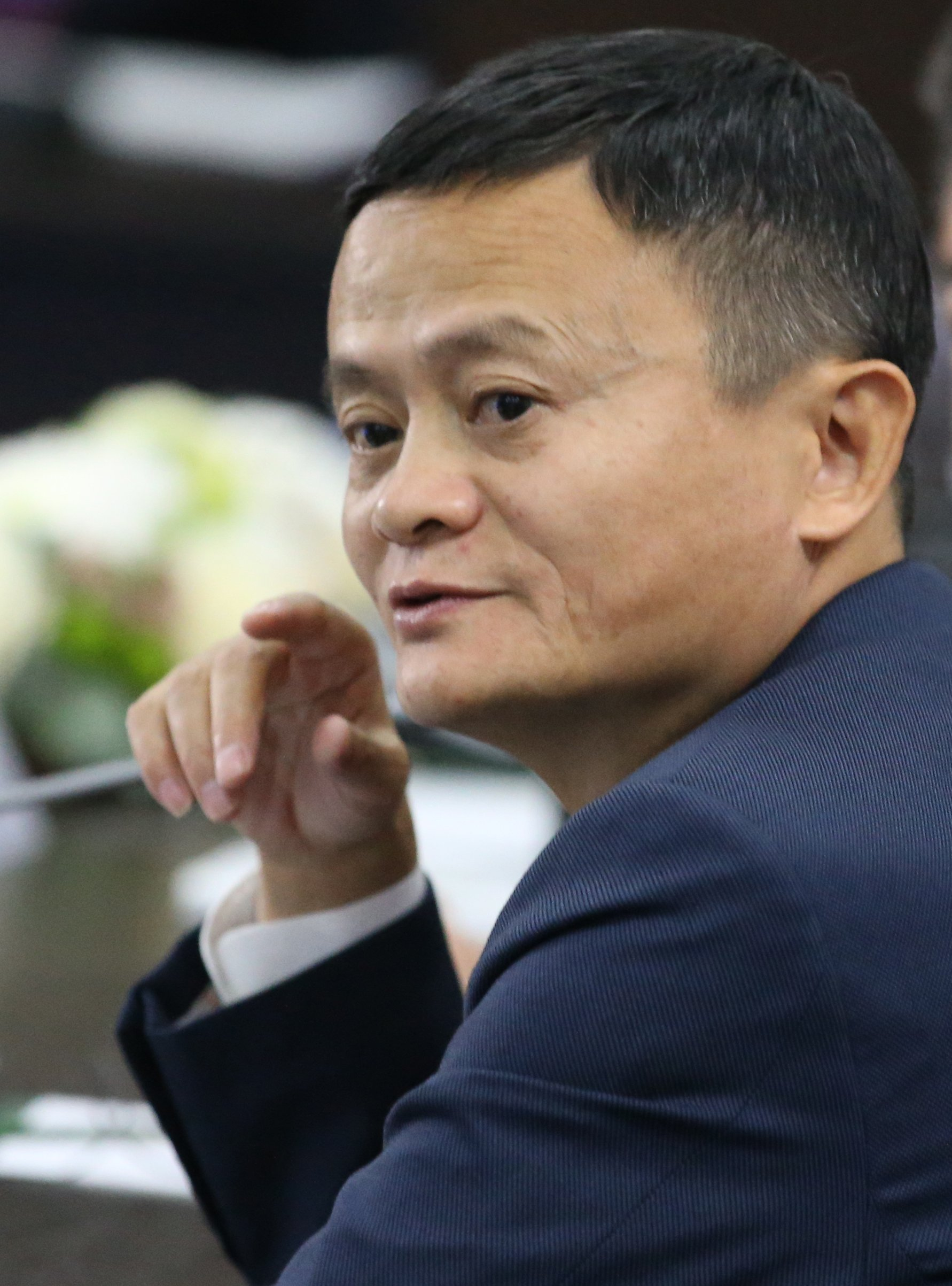 Alibaba's Chairman Jack Ma attending the Russian-Chinese meeting at the Eastern Economic Forum in Vadivostok, Russia | Photo: Getty Images