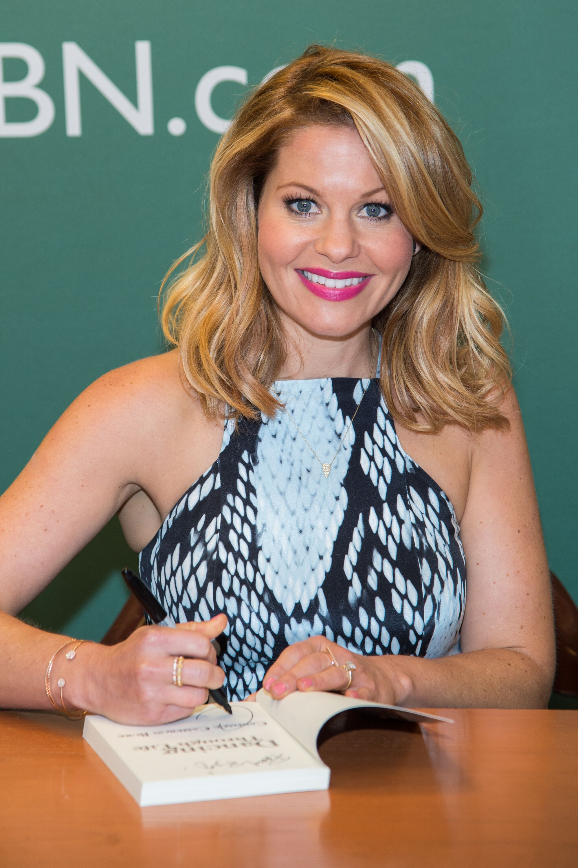 Candace Cameron Bure at her book promotion. | Source: Getty Images