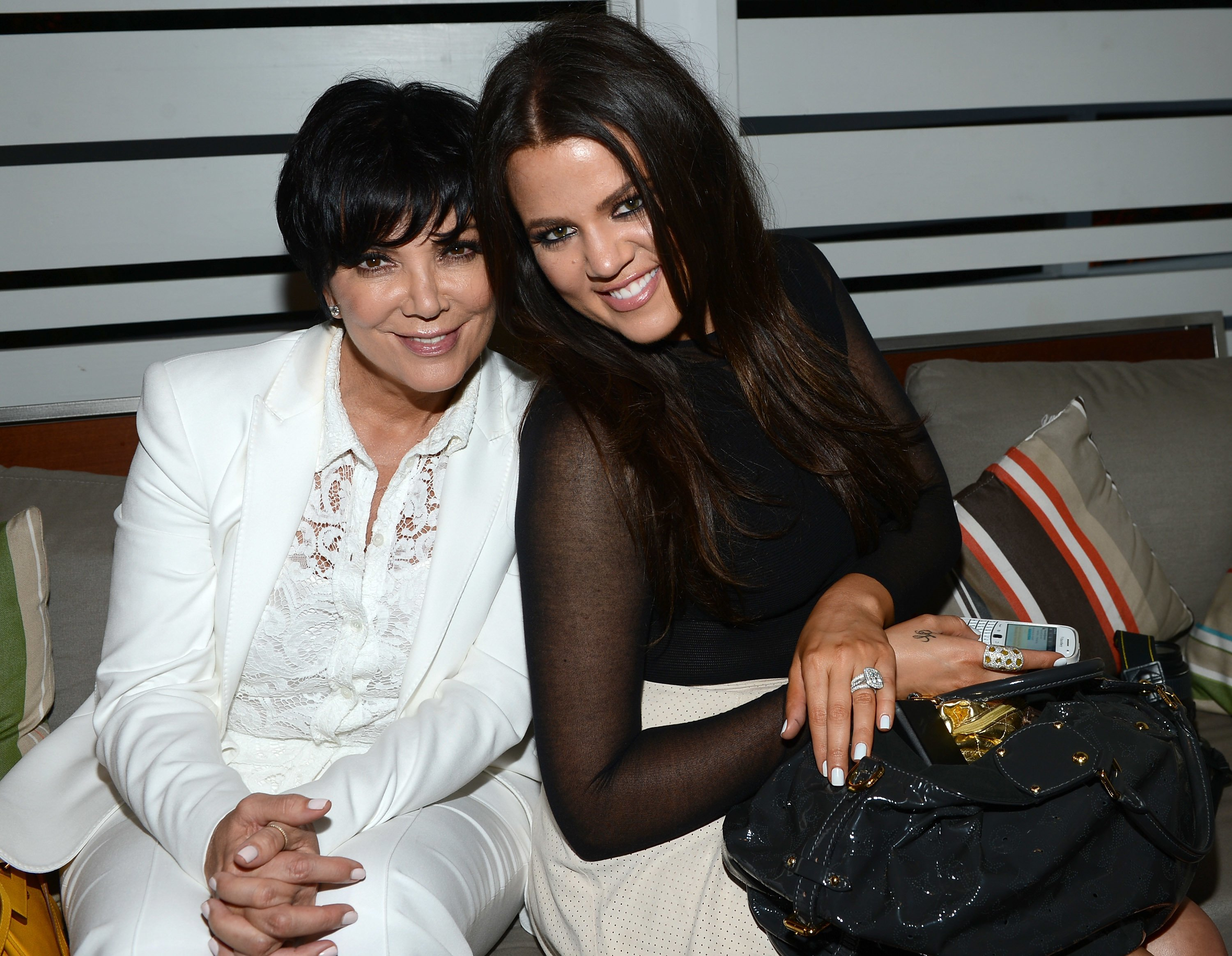 Kris Jenner and Khloe Kardashian at the 2012 Seventeen Magazine's September Issue Celebration | Source: Getty Images