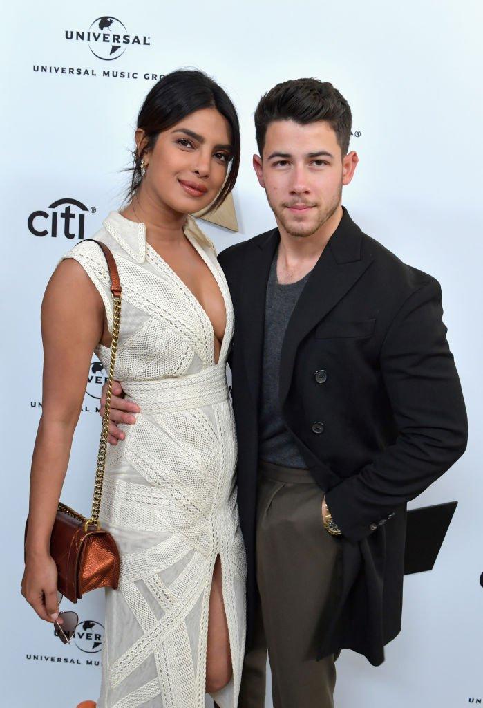 Priyanka Chopra et Nick Jonas en février 2019 à Los Angeles. Photo : Getty Images