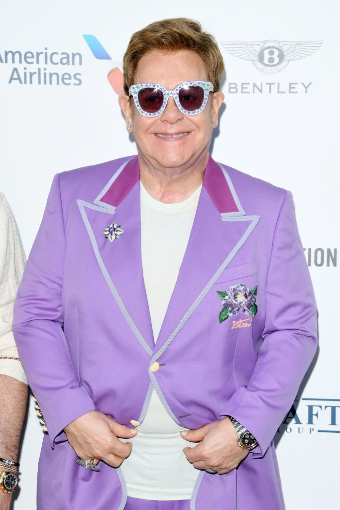 """Sir Elton John attends the first """"Midsummer Party"""" hosted by Elton John and David Furnish to raise funds for the Elton John Aids Foundation in Antibes, France   Photo: Getty Images"""
