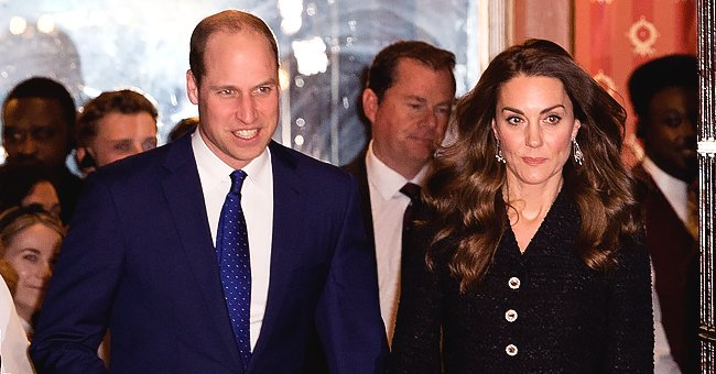 Prince William and Kate Middleton Shared PDA Moment after a Visit to the Noel Coward Theatre