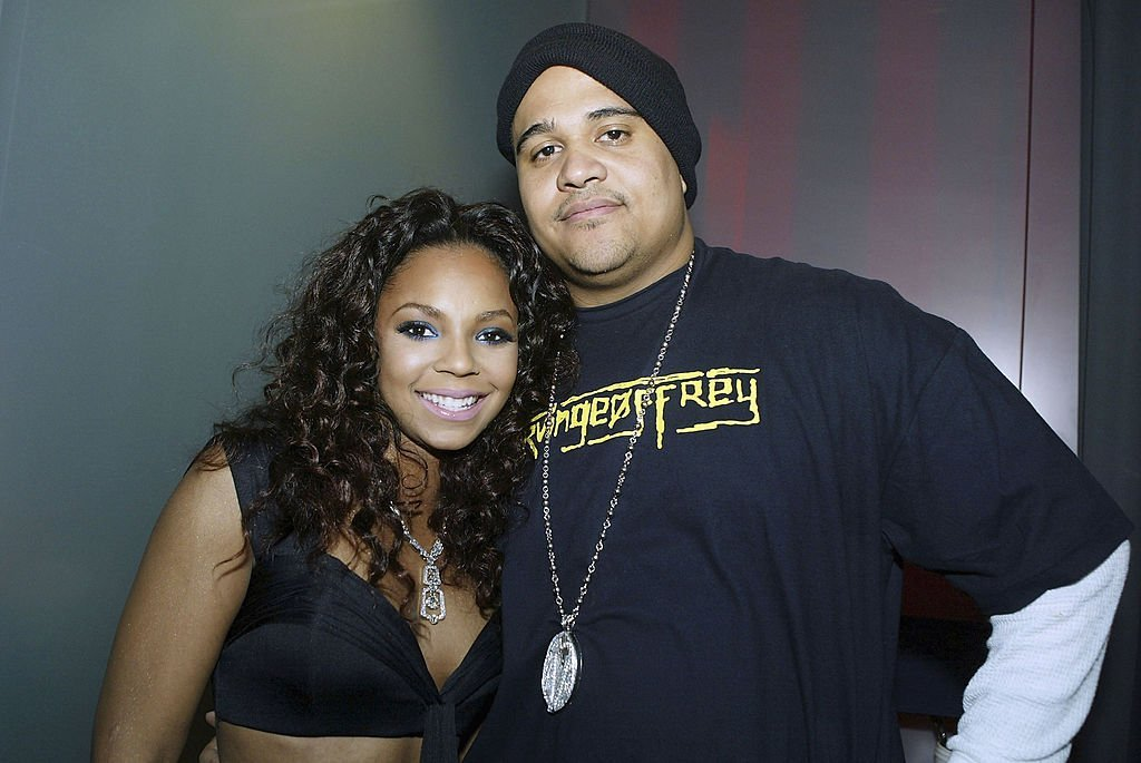 """Ashanti and Irv Gotti during a video shoot for the singer's track, """"Don't Let Them"""" in March 2003. 