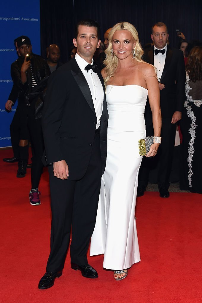 Donald Trump Jr.(L) and Vanessa Trump attend the 102nd White House Correspondents' Association Dinner on April 30, 2016 in Washington, DC. | Photo:Getty Images
