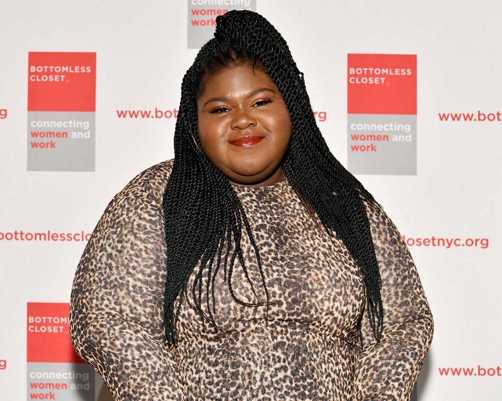 Gabourey Sidibe attends the 20th Anniversary Bottomless Closet Luncheon at Cipriani 42nd Street on May 15, 2019 in New York City. | Source: Getty Images