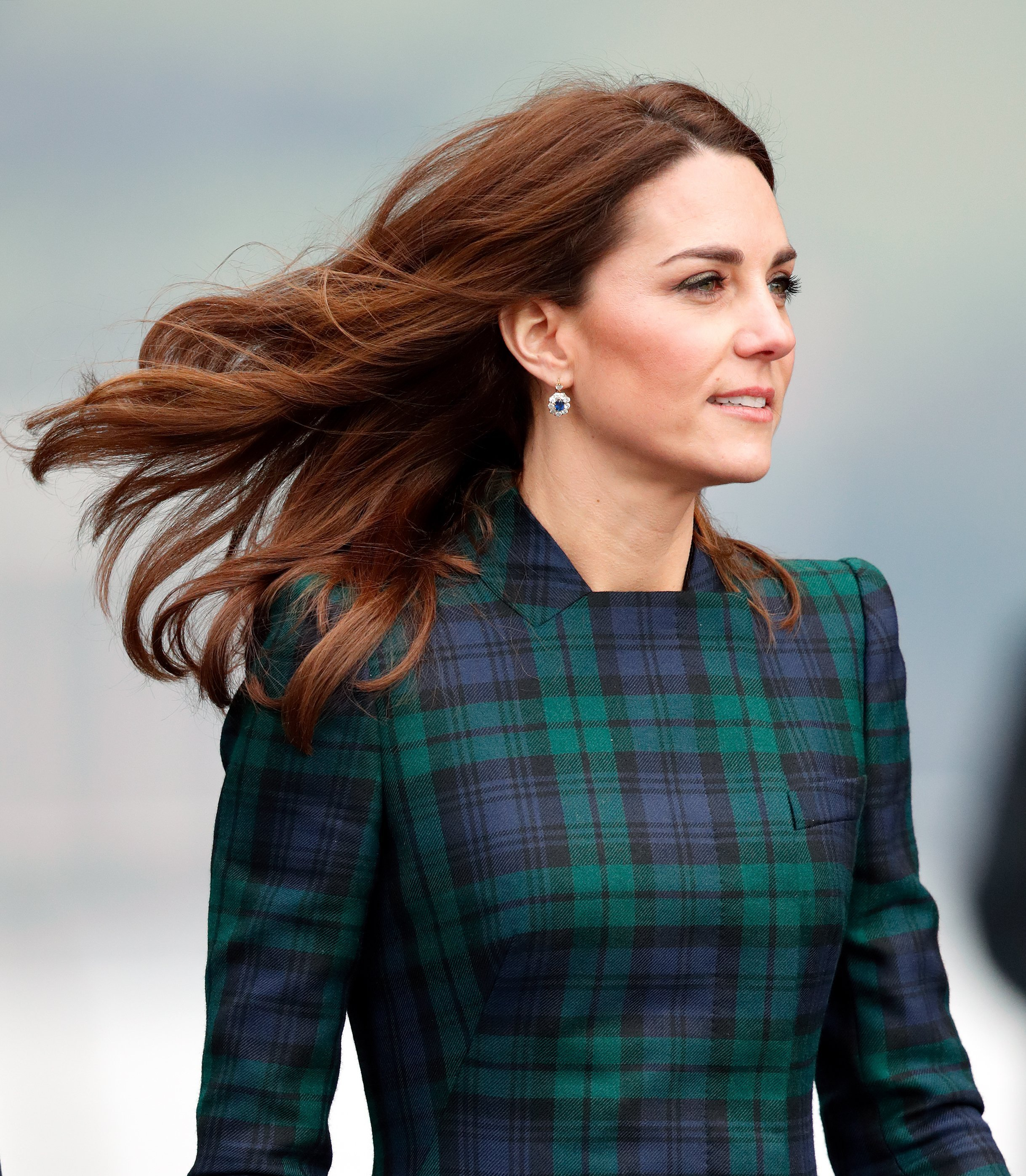 La chevelure brillante de Kate Middleton. l Source: Getty Images