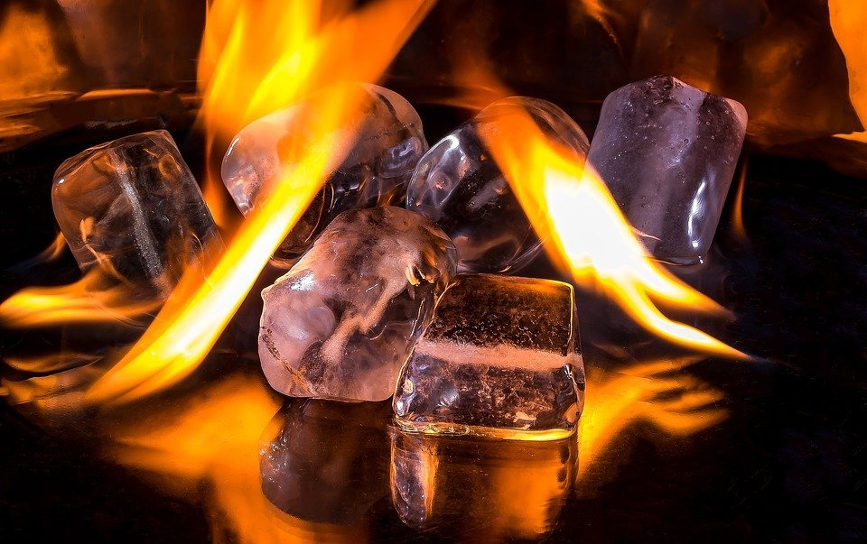 Frío - caliente / Imagen tomada de: Pixabay
