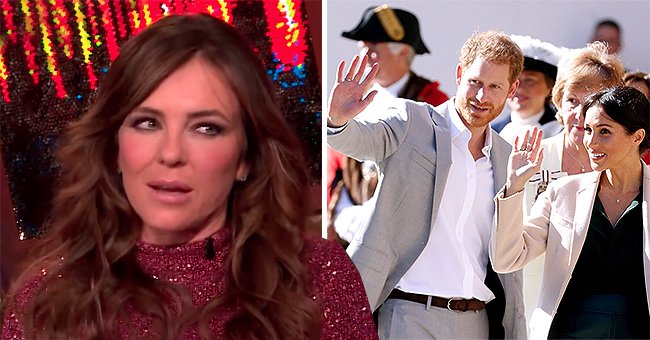 Elizabeth Hurley of 'The Royals' Fame Thinks Meghan Markle & Prince Harry Have More Privacy Than People in Showbiz