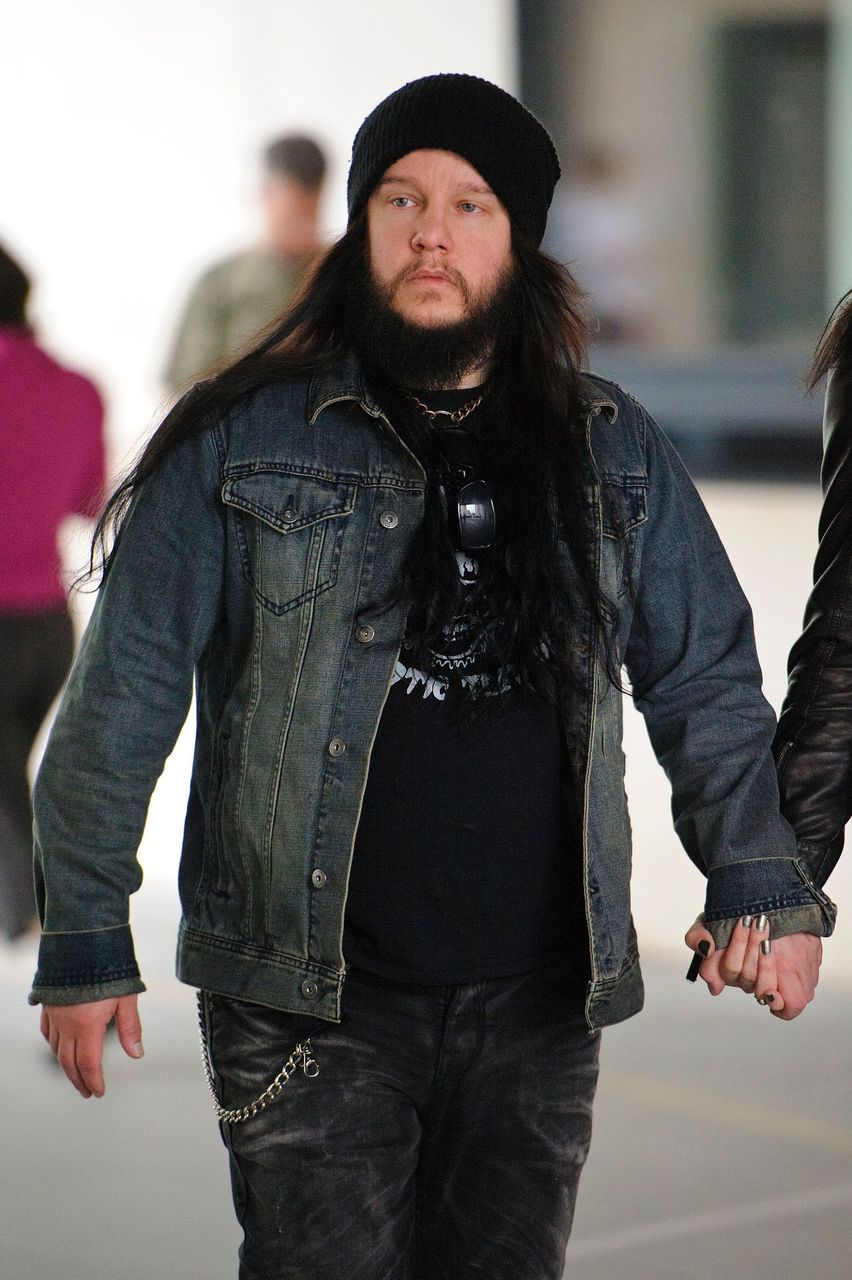 Joey Jordison at BBC Radio Studios on June 20, 2013 in London, England | Photo: Getty Images