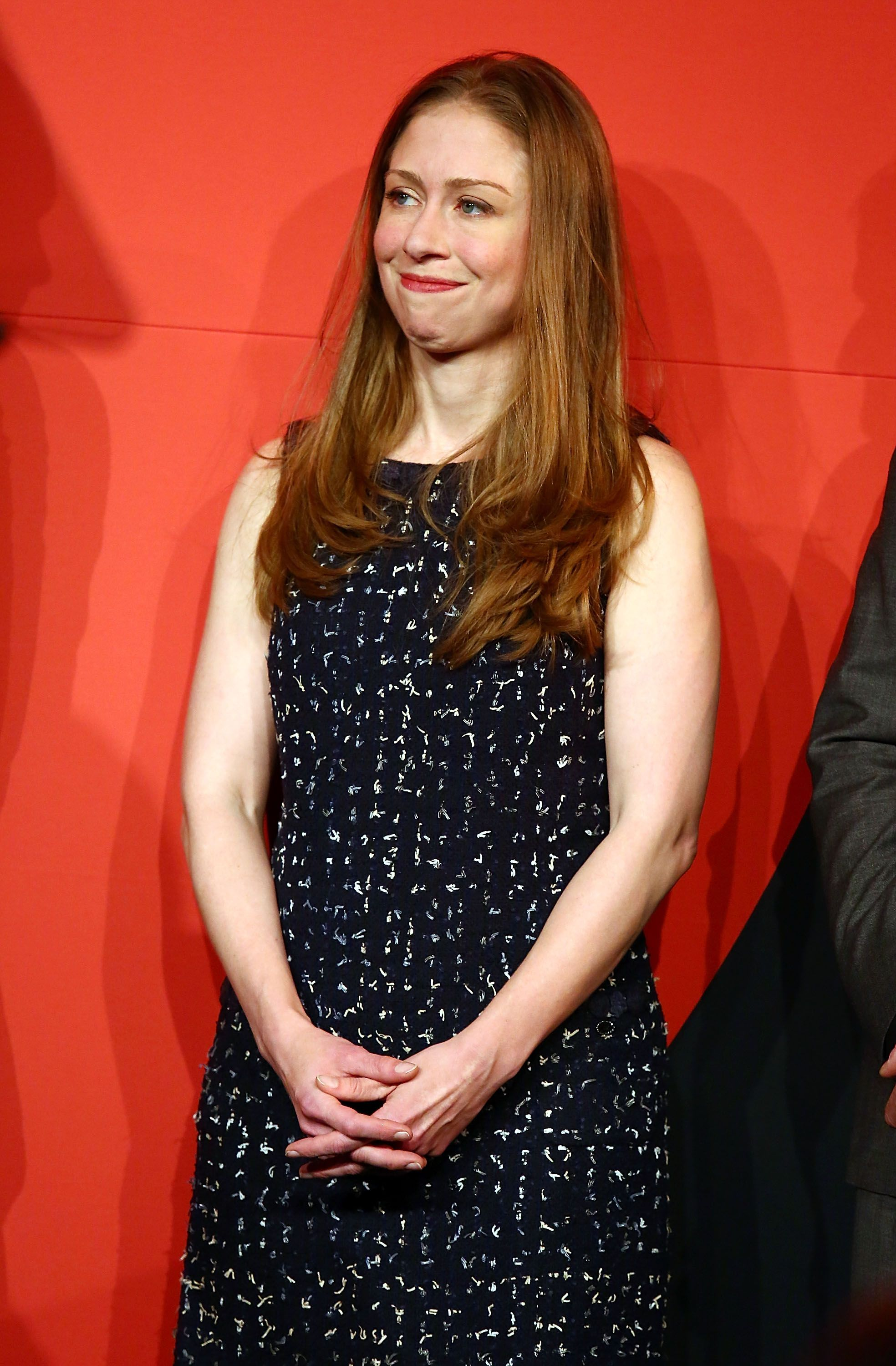Chelsea Clinton at the National Design Awards held at the Cooper Hewitt, Smithsonian Design Museum on October 19, 2017, in New York City | Photo: Astrid Stawiarz/Getty Images