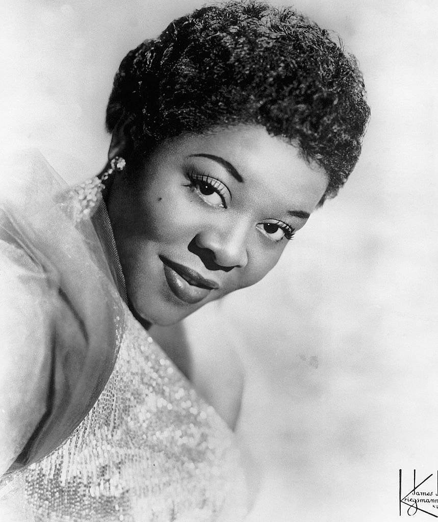 Picture shows a headshot of singer Dinah Washington.| Photo: Getty Images