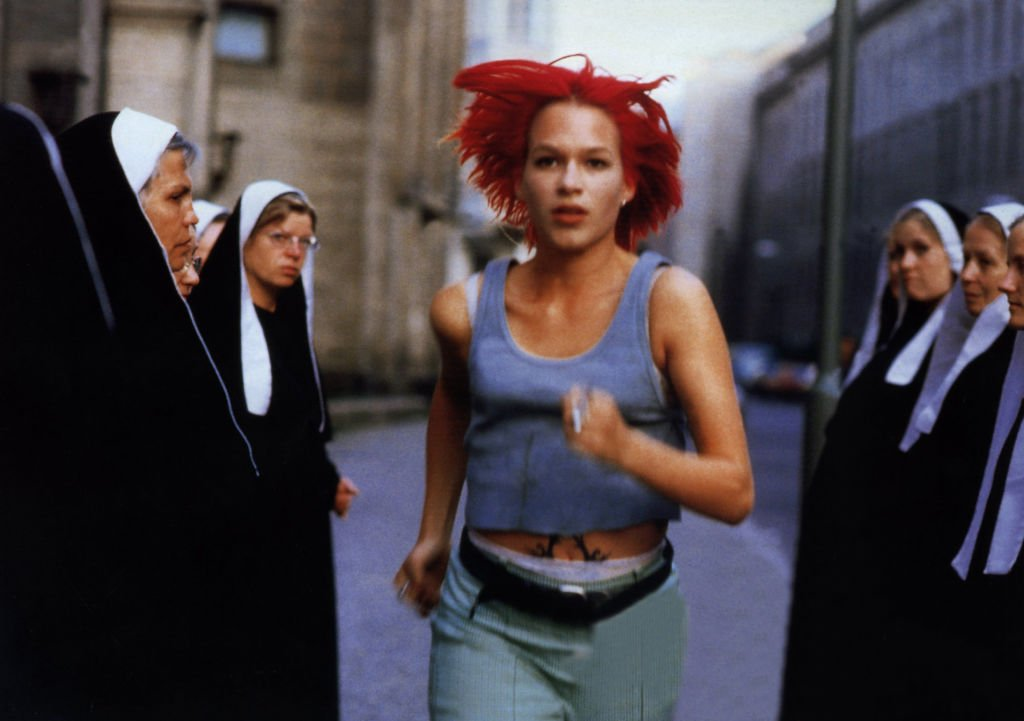 """Lola rennt"" 1998, Regie: Tom Tykwer, Franka Potente. (Photo by Impress Own) 