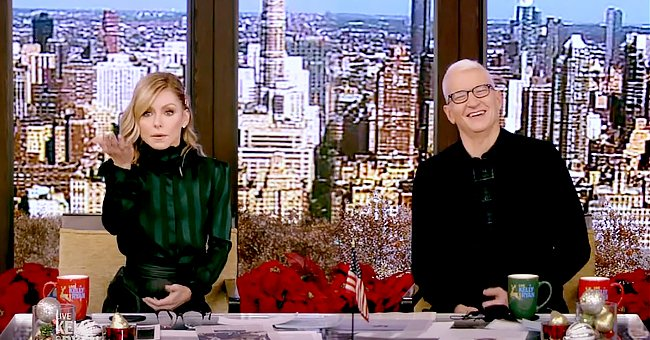 Anderson Cooper Guest Co-hosts 'Live' with Kelly Ripa While Ryan Seacrest Is Missing